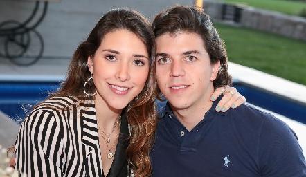 Nuria Minondo y Sebastián Garza.
