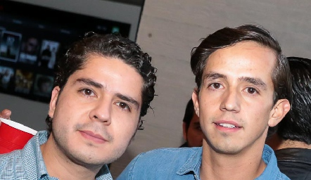 Rodrigo Agundis y Javier Velasco.