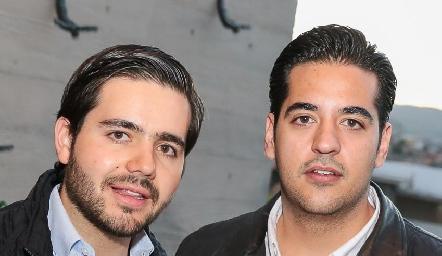 Mauricio Mahbub y José Antonio Alonso.
