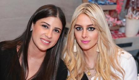 Melissa Fernández y Valeria Guerrero.
