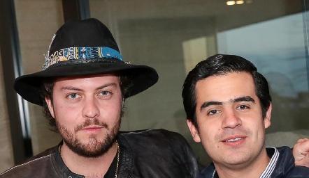 Pato Lozano y Rodolfo Ortega.