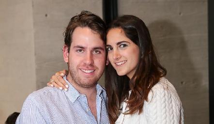 Andrés Aguirre y Paola Bulle.