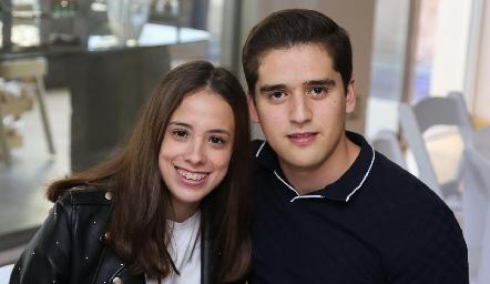 Paty Silva y Alejandro Hinojosa.