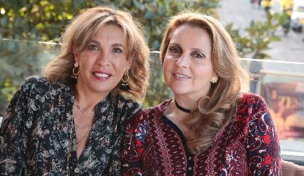 Alicia de Alba y Ana Isabel Gaviño.