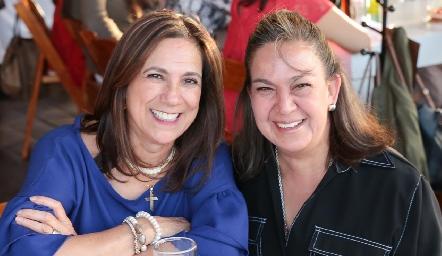Gracielita González y Mónica Córdoba.