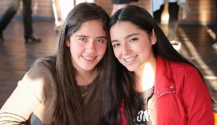 Ximena y Daniela Herrera.