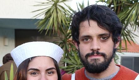 Vicki González y Giancarlo Alessi.