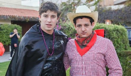 Mauricio Maza y Alejandro Díaz.