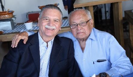 Roberto Bárcena y Ernesto Gómez.