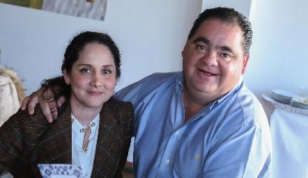 Marcela y Francisco Duque.