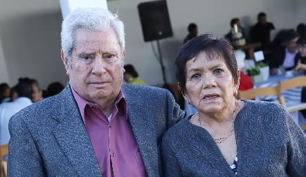 Ricardo y Juanita Quibrera.