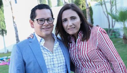 Sergio Quibrera y María José Abaroa de Quibrera.