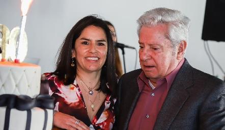 Lupita y Ricardo Quibrera.