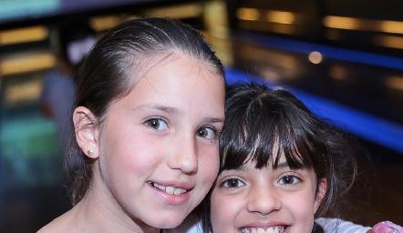 Vanessa Elizondo y Sofía Anguiano.