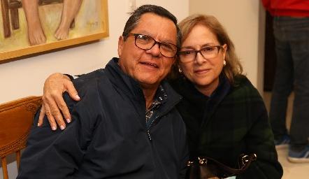 Jesús Martínez y Lupita González.