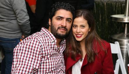 Miguel Arriaga y Daniela Jiménez.