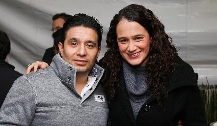 Eduardo Garduño y Fernanda Uribe.