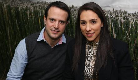 Goyo del Peral e Iris Molina.