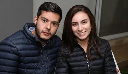 Juan Carlos Magdaleno y Tania Rangel.