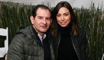 Luis Felipe Gómez y Alejandra Muñoz.