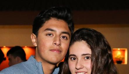 José Miguel Ruiz y Regina Armendáriz.