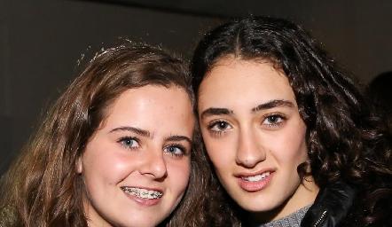 Faride Pérez y Luciana Abud.