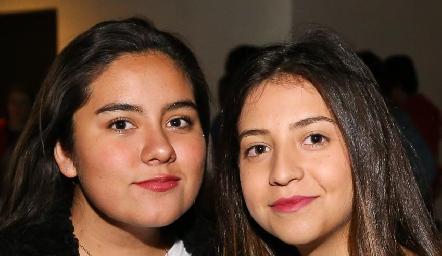 Regina Gil y Donatela Alessi.