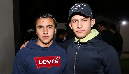 Héctor Cabral y Carlo Pizzuto.