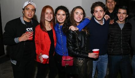 Manuel Flores, Nuria Naranjo, Natalia Hampshire, Humberto Abaroa y Eduardo Siller.