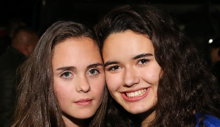 Emilia Meade y Natalia Hampshire.