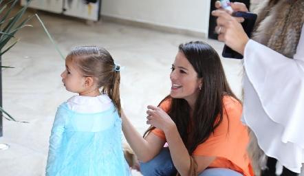 Inés y Andrea Hernández.