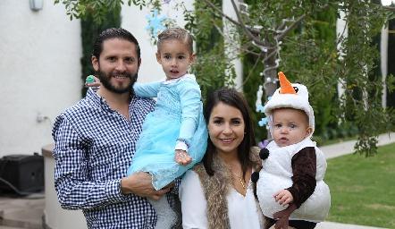 Familia Hernández Lázaro.