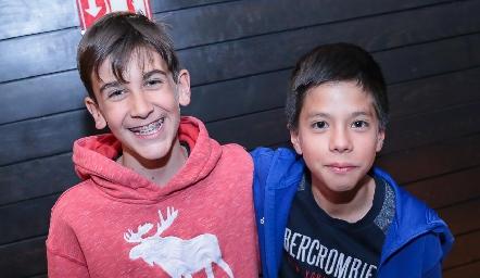 Andrés Díaz y Felipe Rodríguez.