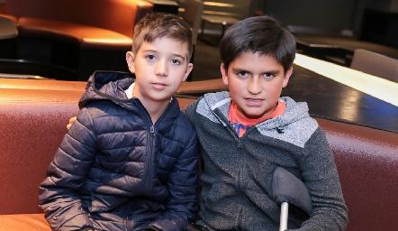 Andrés Araiza y Chus Conde.