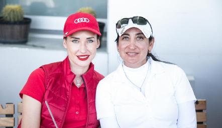 Olesia Schevchenco y Blanca de Cantú.
