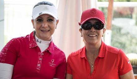 Dafne Montejano y Sandra Galván.