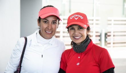 Fabiola González y Marisa Contreras.