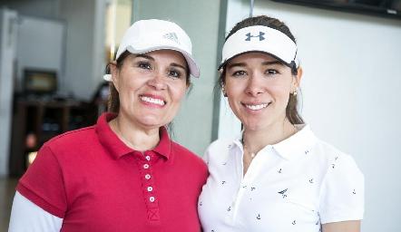 Cristy Gálvez y Michelle Cano.