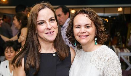 Diana Guel y Gaby González.