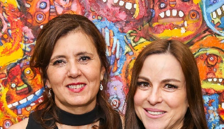 Marcela Milán y Diana Guel.