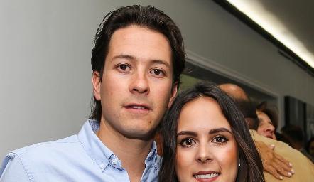 Mauricio Dibildox y Claudia Antunes.