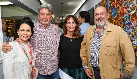 Cecilia Jiménez, Jorge Rodríguez, Mónica de la Rosa y José Luis Hernández .