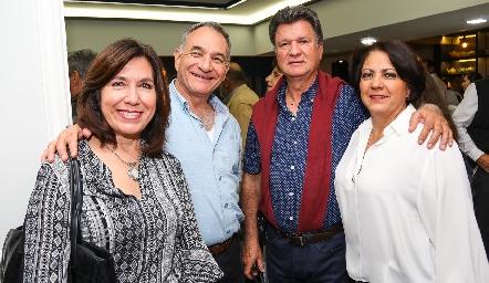 Mónica Concha, Carlos Torre, Gerardo Villasuso y Sandra Gaviño.