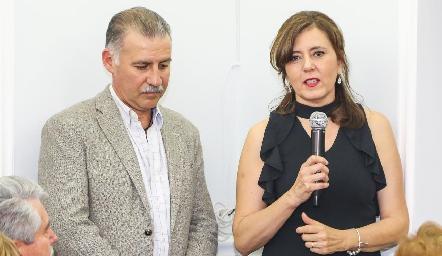 Paco Correa y Marcela Milán.