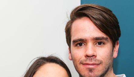 Lorena Cuadra y Eduardo Álvarez .