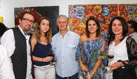 En la inauguración de Epatar eco arte.