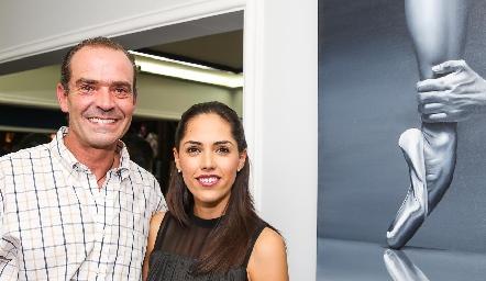 Juan Cuétara y Ana Villanueva.
