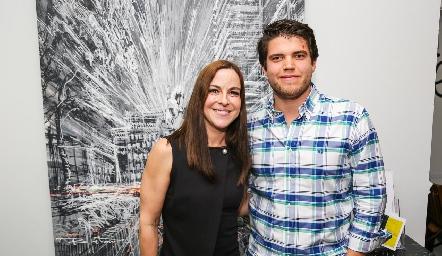 Diana Guel y Ricardo de la Torre.