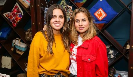 Marisol Cabrera y Nuria Alcalde.