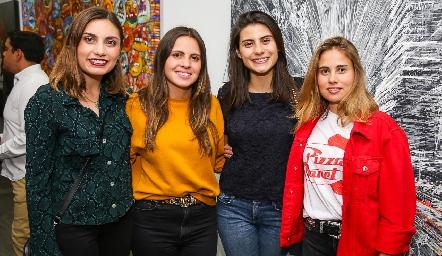 Sofía Rodríguez, Marisol Cabrera, Tere Cadena y Nuria Alcalde.
